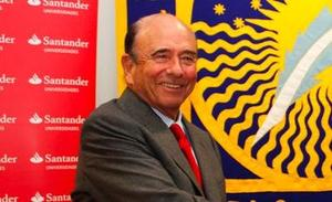 Emilio Botín, presidente do Santander /universia flickr
