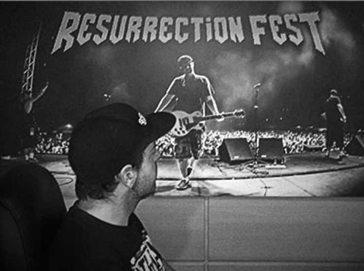 Iván Méndez, do Resurrection Fest