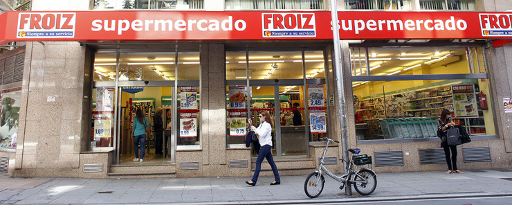 Supermercado do Grupo Froiz