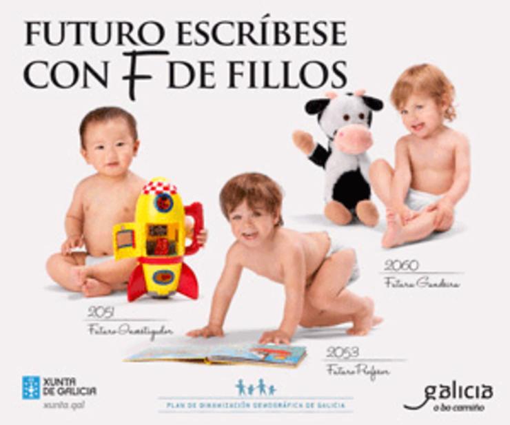 A Xunta cerrou comedores escolares para gastar 3 millóns de euros en publicidade desde 2013 para animar a ter crianzas a acostumbrase ao estómago vacio.