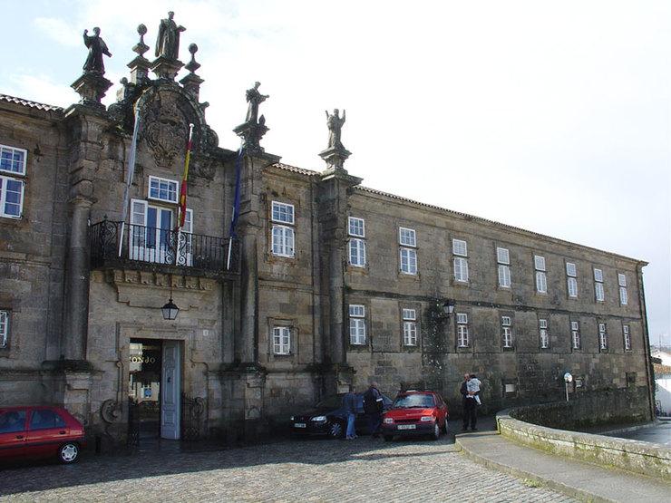 Hospital psiquiátrico de Conxo, en Compostela
