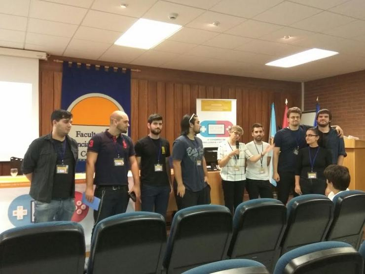 Gañadores do Game Jam, do Cive / Guindeira