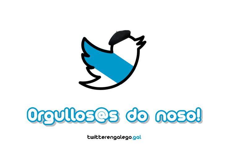 A iniciativa Twitter en Galego (@chio_en_galego).
