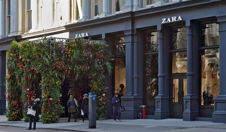 Tenda de Zara / Europa Press.