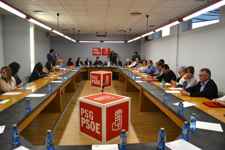 Reunión da executiva do PSdeG