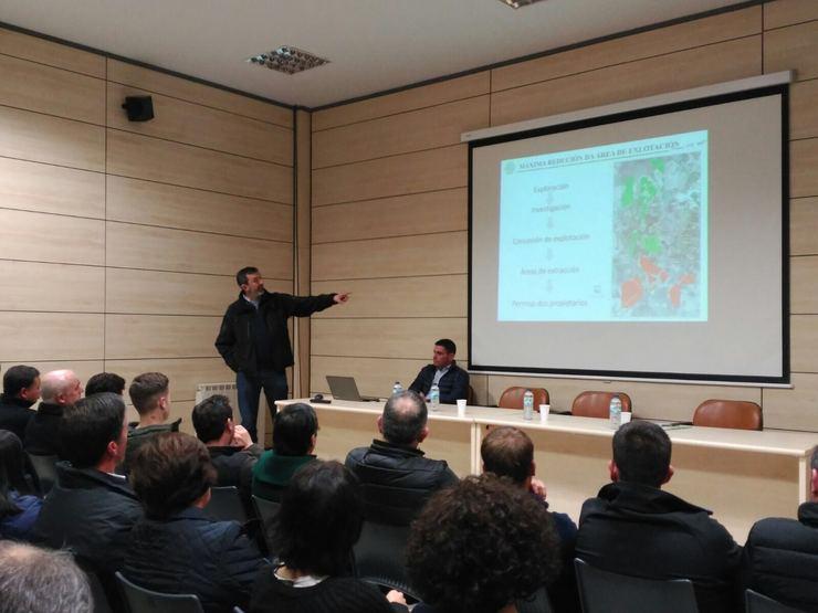 Reunión sobre a mina en Xanceda organizada por Erimsa