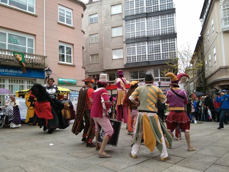 d72ee4c31786 Troula Medieval nas rúas de Monforte