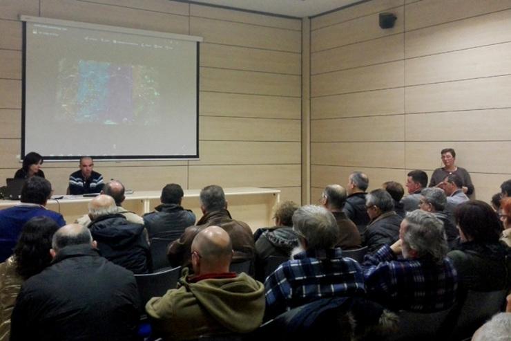 Asemblea do SLG en Xanceda sobre o proxecto de Erimsa