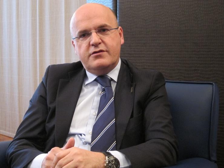 O presidente da Deputación de Ourense, José Manuel Baltar (PP)
