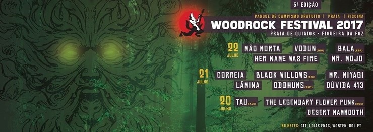 Cartel do Woodrock Festival
