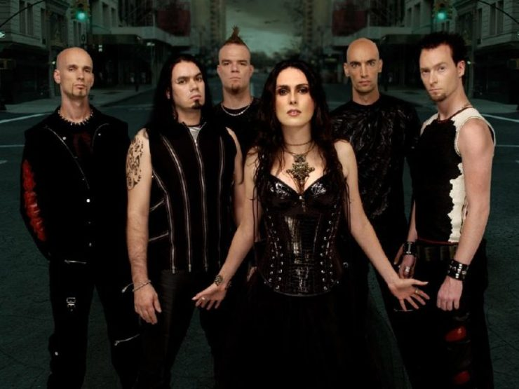 A banda Within Temptation / AXM