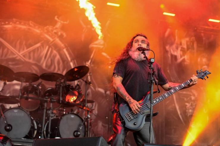 Tom Araya, cantante e guitarra de Slayer / AXM