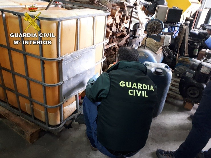 [Grupovigo] Remitindo Nota De Prensa. GUARDIA CIVIL / Europa Press