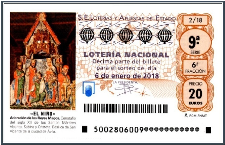 Decimo Loteria do Neno 2018 / Europa Press