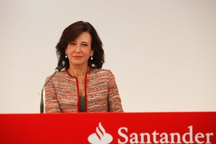 Ana Botín, presidenta do Banco Santander