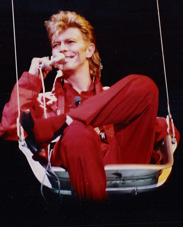 David Bowie en 1987 / wikipedia