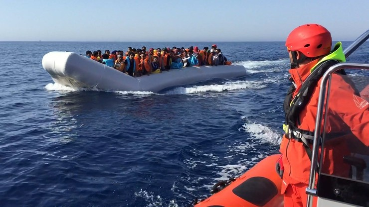 Misión de salvamento de Proactiva Open Arms / Europa Press