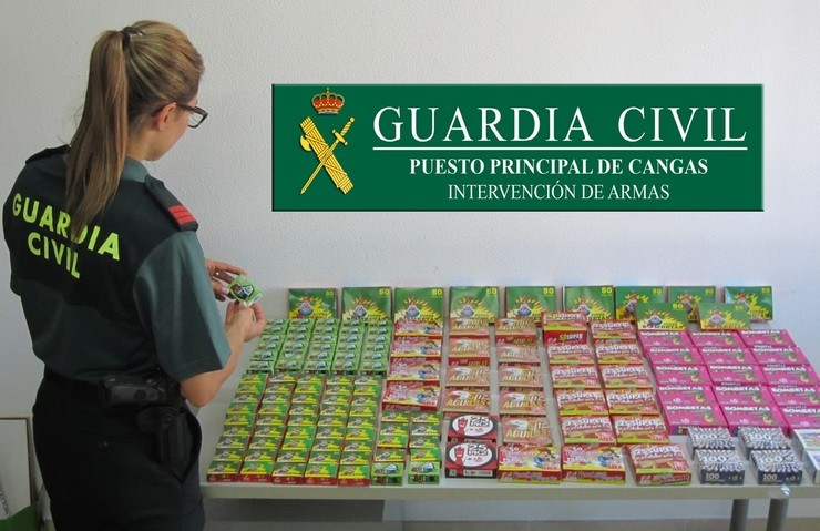 Nota De Prensa. GUARDIA CIVIL / Europa Press