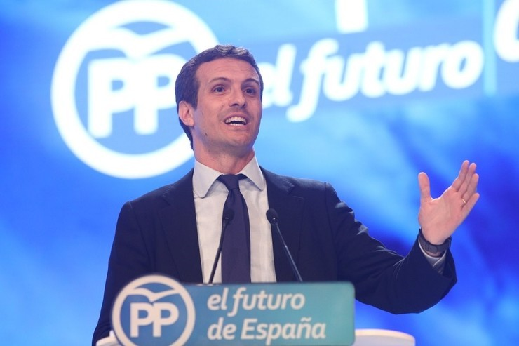 Pablo Casado, presidente do PP