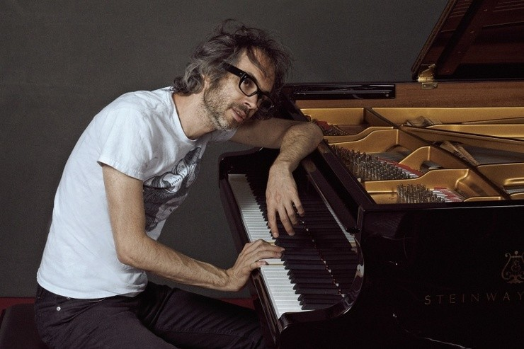 O pianista James Rhodes.