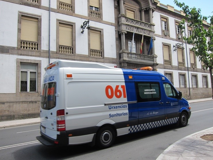 Ambulancia Do 061 Galicia. EUROPA PRESS - Archivo