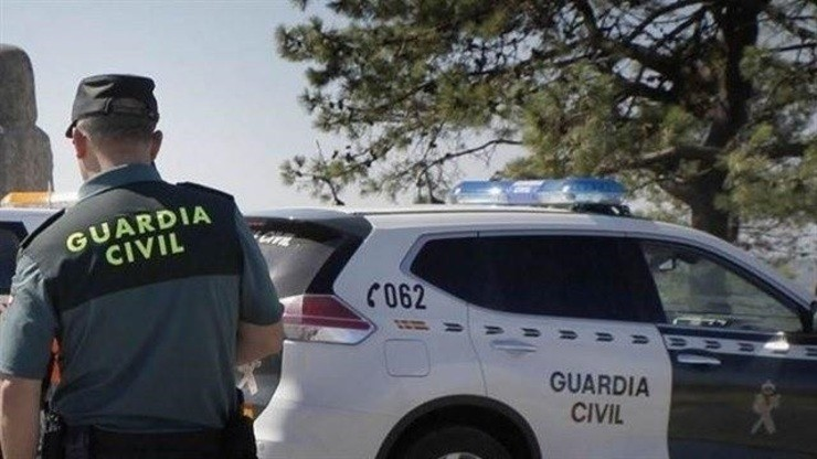 Garda Civil nun accidente / GC