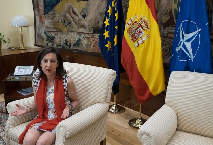 A ministra de Defensa, Margarita Robles. Eduardo Parra - Europa Press