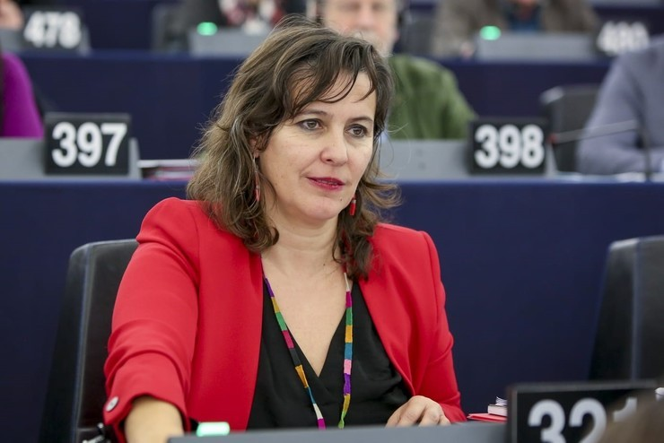 Ana Miranda en el pleno del Parlamento Europeo. BNG - Archivo / Europa Press