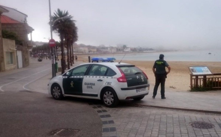 Axente da Garda Civil. GUARDIA CIVIL