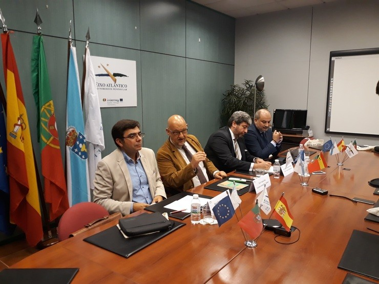 Reunión do Eixo Atlántico con representantes de Arriva Spain Rail / Europa Press