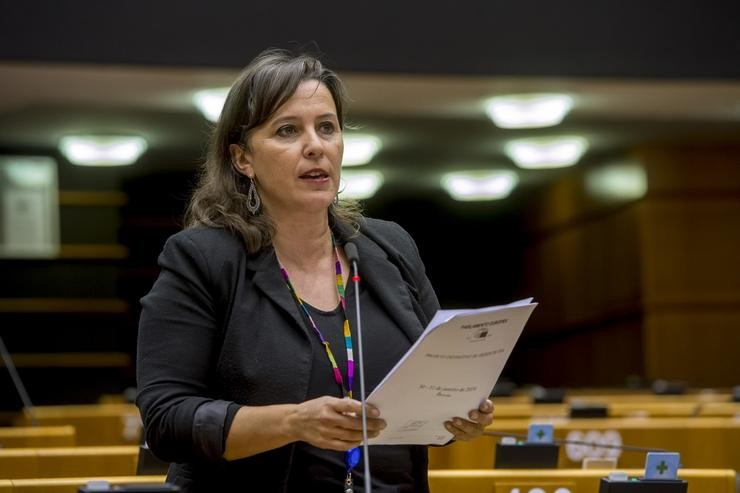 Ana Miranda na Comisión Europea / Europa Press