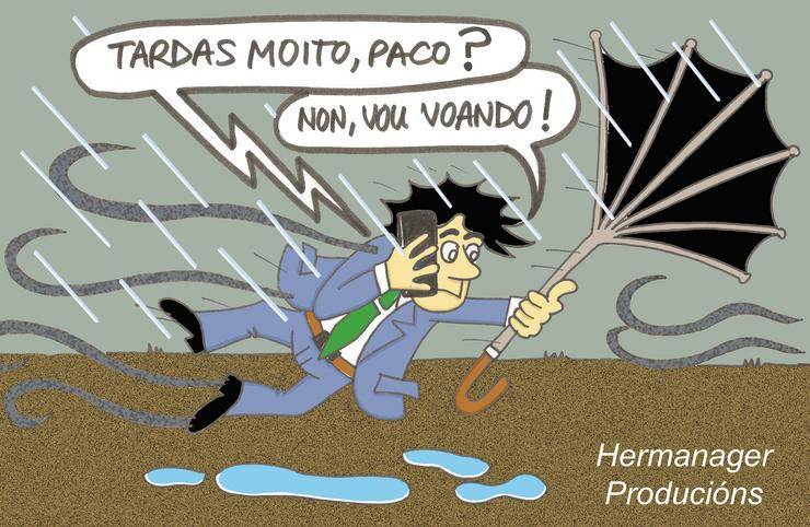 Hermanager Humor- Temporal