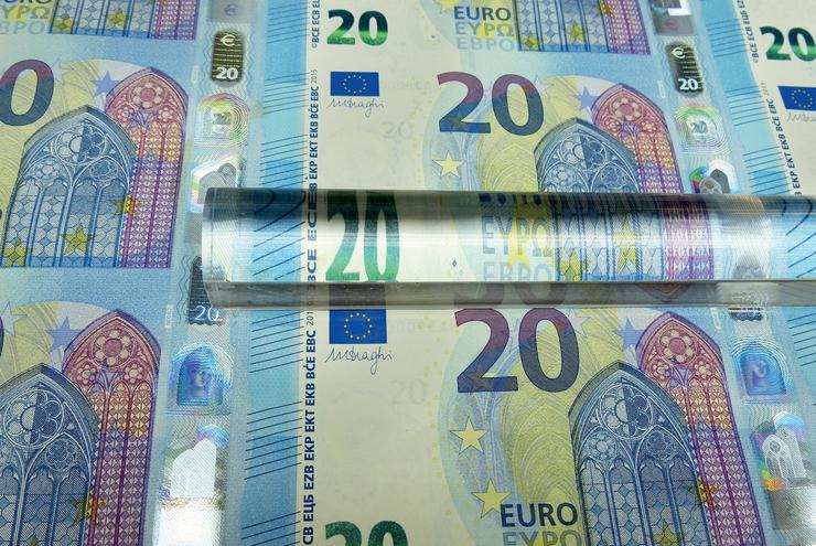 Billetes de euro. EUROPA PRESS - Arquivo / Europa Press