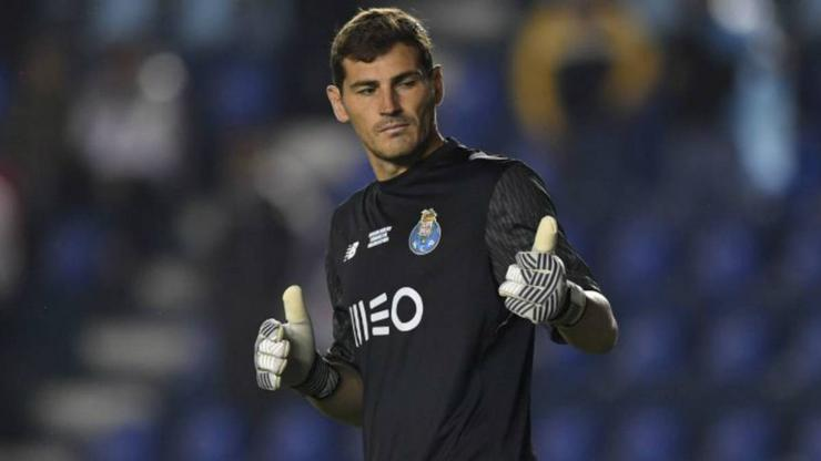 Iker casillas, porteiro do Porto / abola.pt