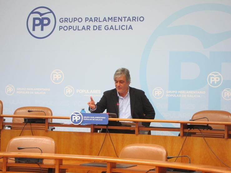 Portavoz parlamentario do PPDEG, Pedro Puy / Europa Press