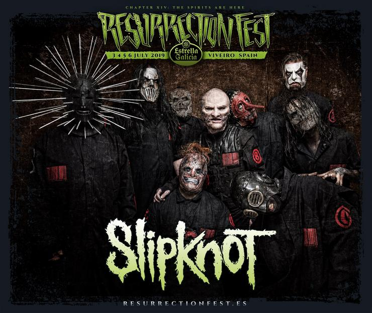 SLIPKNOT. RESURRECTION FEST - Arquivo / Europa Press