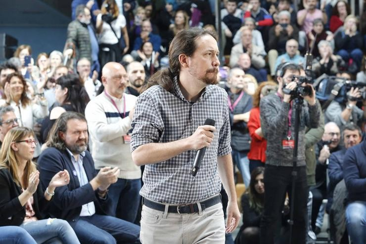 Pablo Iglesias / Europa Press