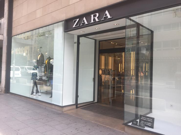 Tenda de Zara. EUROPA PRESS - Arquivo