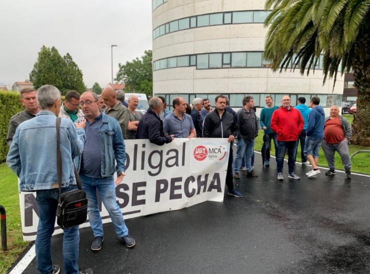 Protesta contra o peche de Poligal / Europa Press
