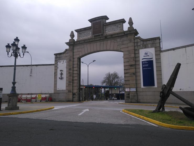 Entrada do estaleiro Navantia en Ferrol. / Europa Press.
