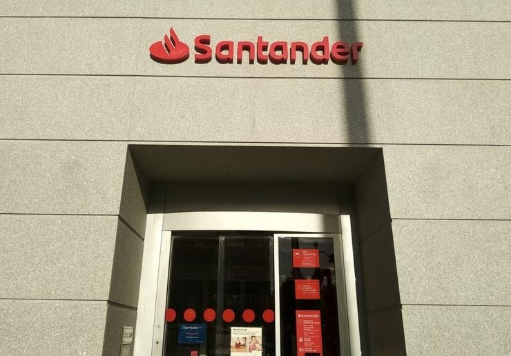 Banco Santander. EUROPA PRESS - Arquivo