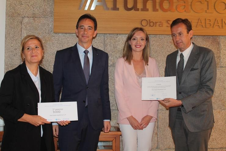 Entrega do premio concurso de ideas do Plan «Como na casa» / Afundación.
