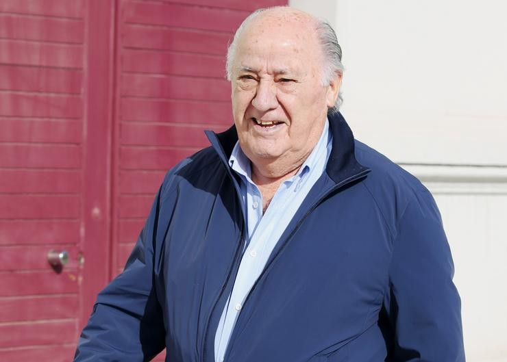 Amancio Ortega / EUROPA PRESS - Arquivo / Europa Press