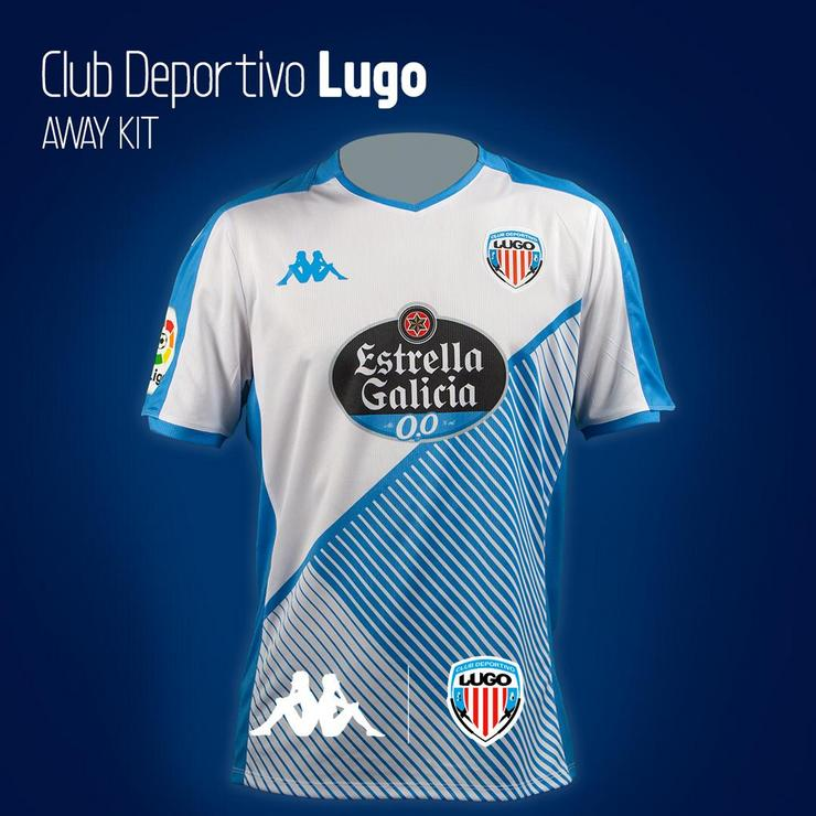 Camiseta do CD Lugo.