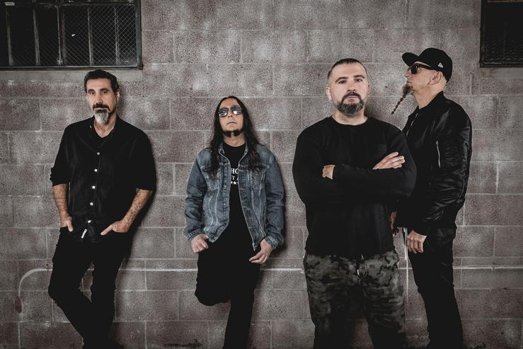 System of a Down. RESURRECTION FEST - Arquivo / Europa Press