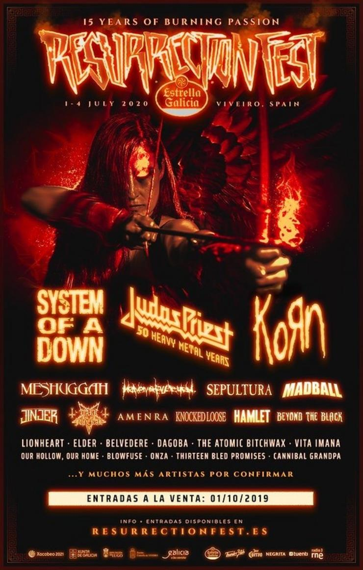 Cartel do Resurrection Fest / Europa Press
