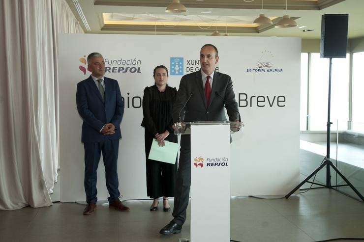 Fallo do Premio de Narrativa Breve Repsol. REPSOL / Europa Press