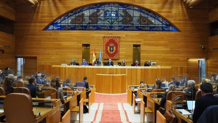 Pleno do Parlamento galego. PARLAMENTO / Europa Press
