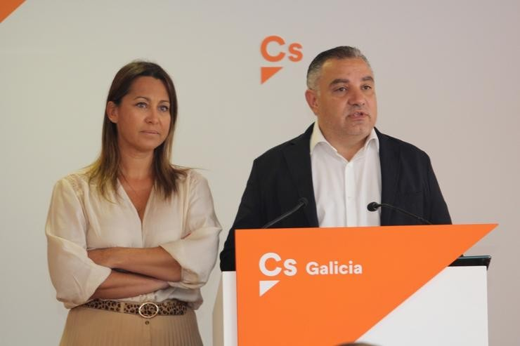 Beatriz Pino e Laureano Bermejo presentan as  novas incorporacións á Executiva Nacional do partido / Cs