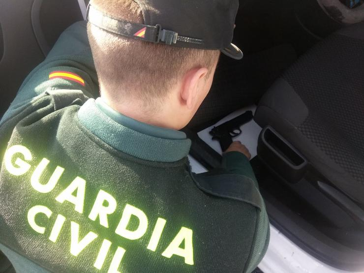 Un garda civil / GC